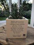 Personalised Flower / Plant Pot In Memory Of Loved One NANA GRAN NAN Or ANY NAME